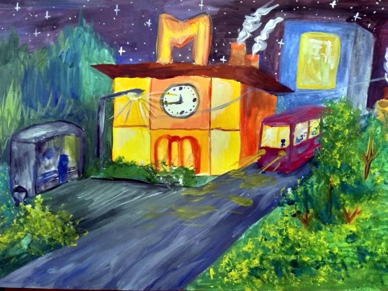 Лаптева Алиса, 10 лет, Художественная студия