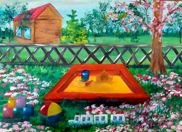 Марченко Екатерина, 11 лет, Художественная студия Art- Радуга, г.Белокуриха,