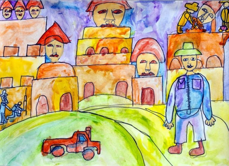 Бураков Елисей, 8 лет, Артстудия