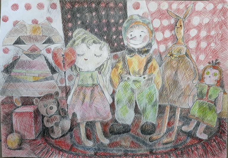 Целлер Виктория, 13 лет, БОУДО Детская школа искусств №10, г.Омск,